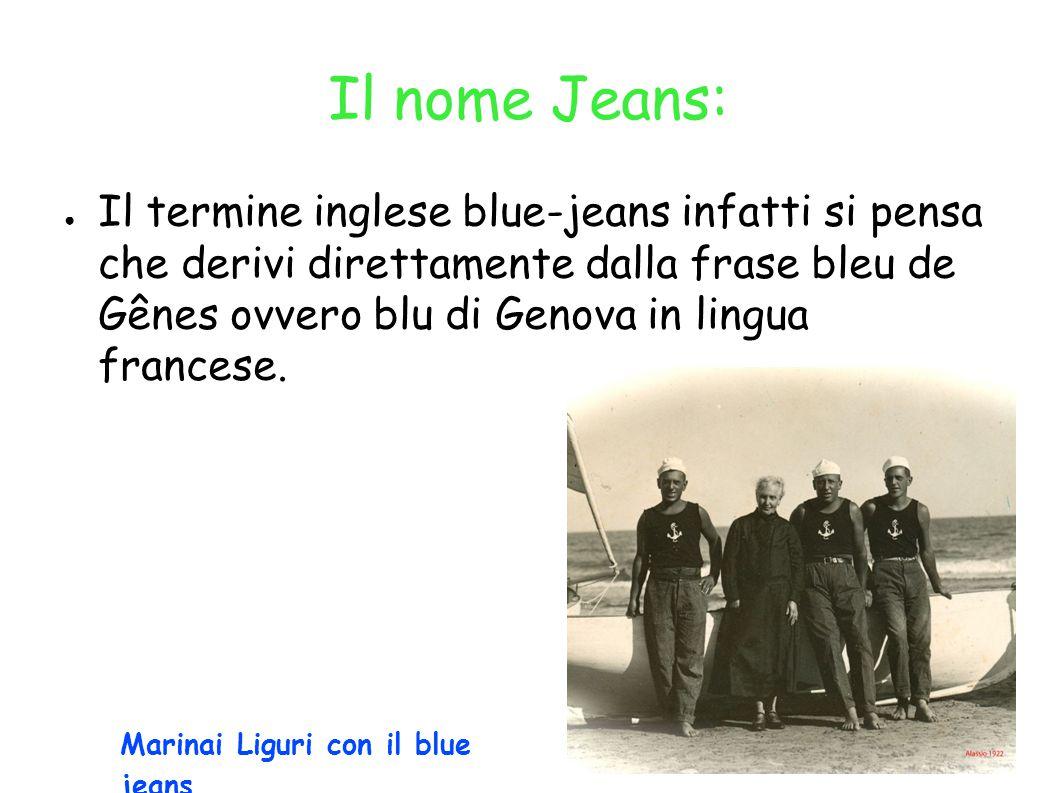 Il nome Jeans: