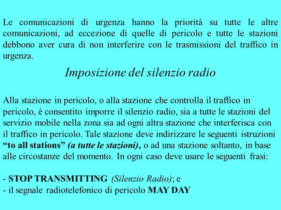 Imposizione del silenzio radio
