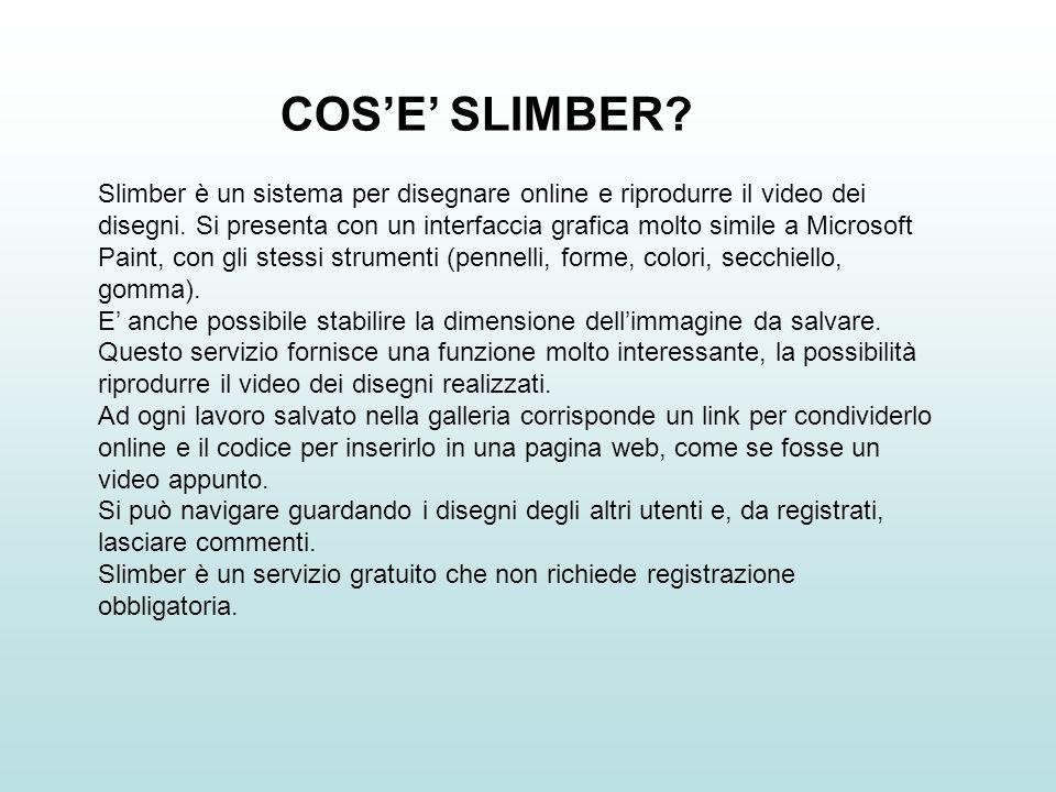 COS'E' SLIMBER