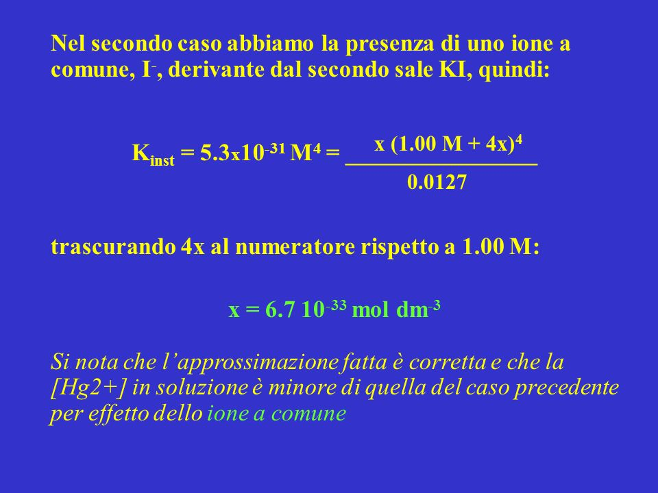 Kinst = 5.3x10-31 M4 = ________________