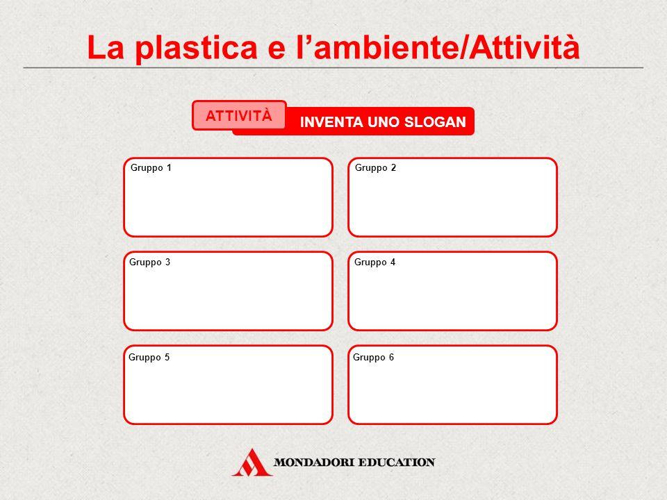 La plastica e l'ambiente/Attività