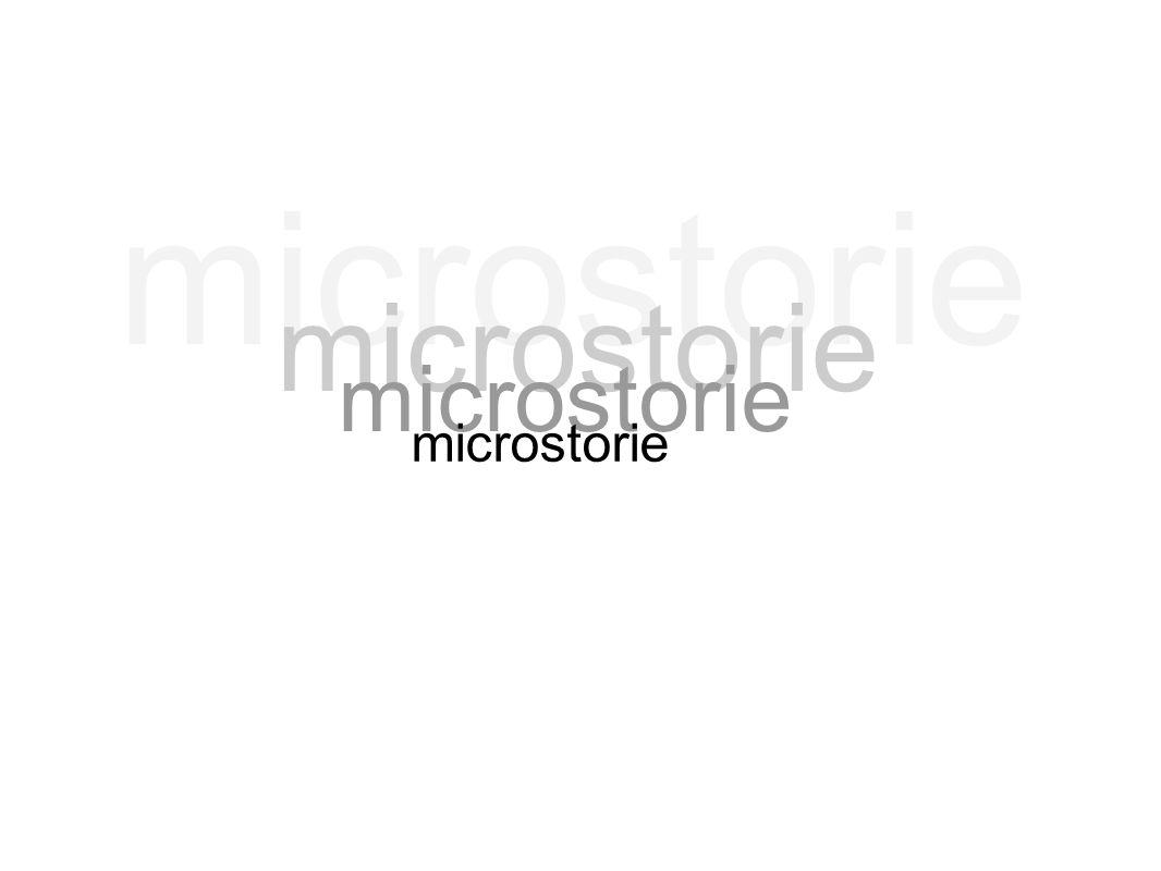microstorie microstorie microstorie microstorie