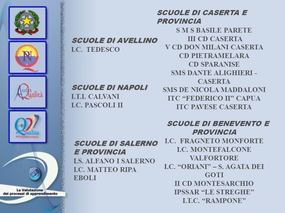 SCUOLE DI CASERTA E PROVINCIA S M S BASILE PARETE III CD CASERTA