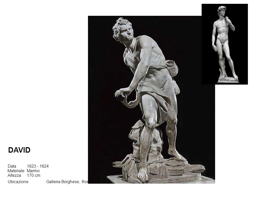 DAVID Data 1623 - 1624 Materiale Marmo Altezza 170 cm
