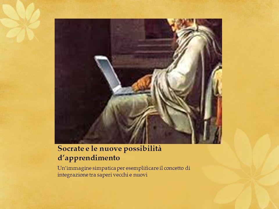 Socrate e le nuove possibilità d'apprendimento