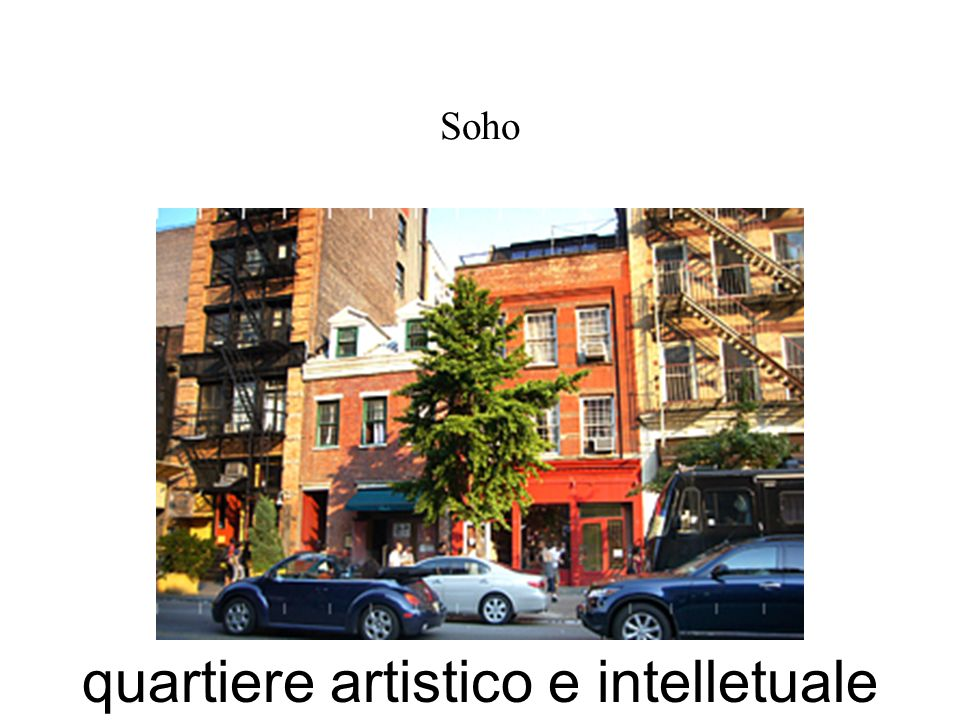 quartiere artistico e intelletuale