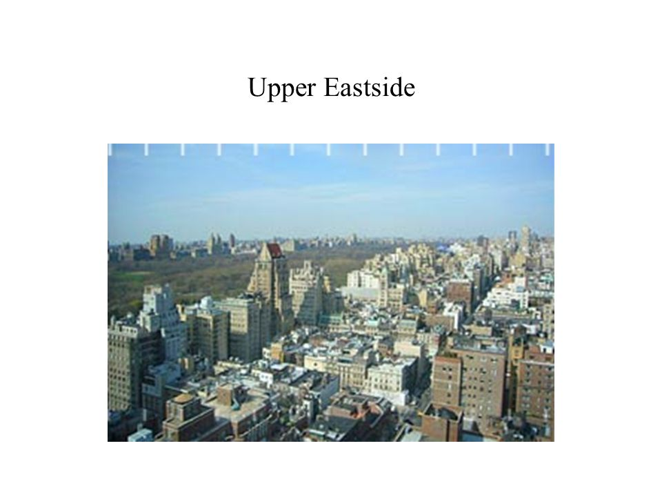 Upper Eastside