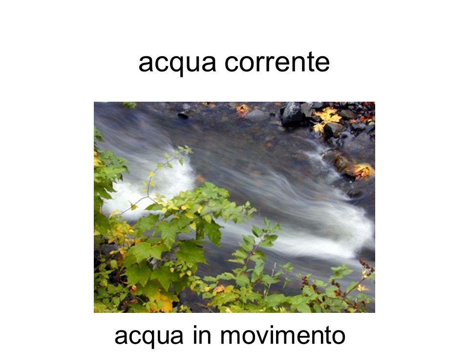 acqua corrente fiumi, ruscelli, acqua in movimento