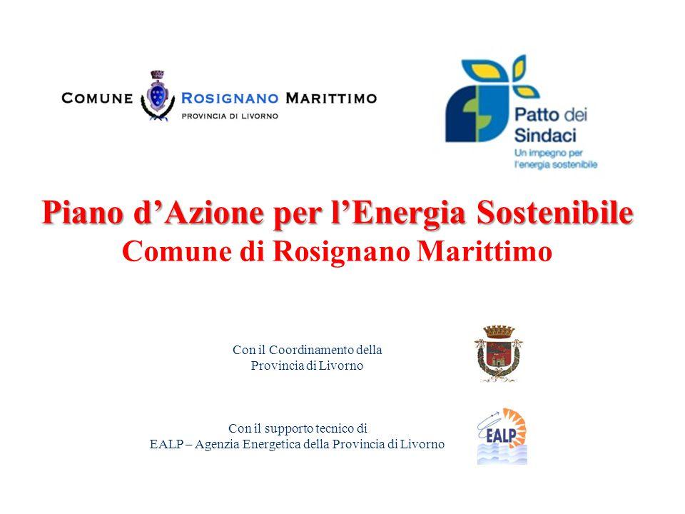 Piano d'Azione per l'Energia Sostenibile Comune di Rosignano Marittimo