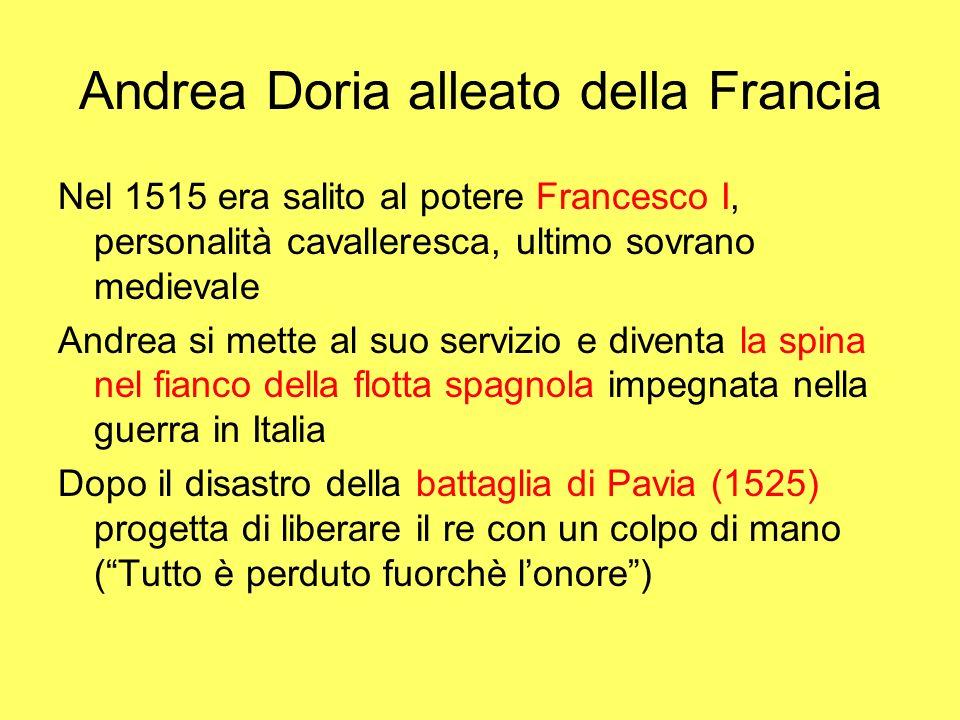 Andrea Doria alleato della Francia