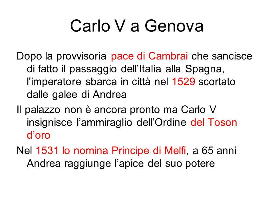 Carlo V a Genova