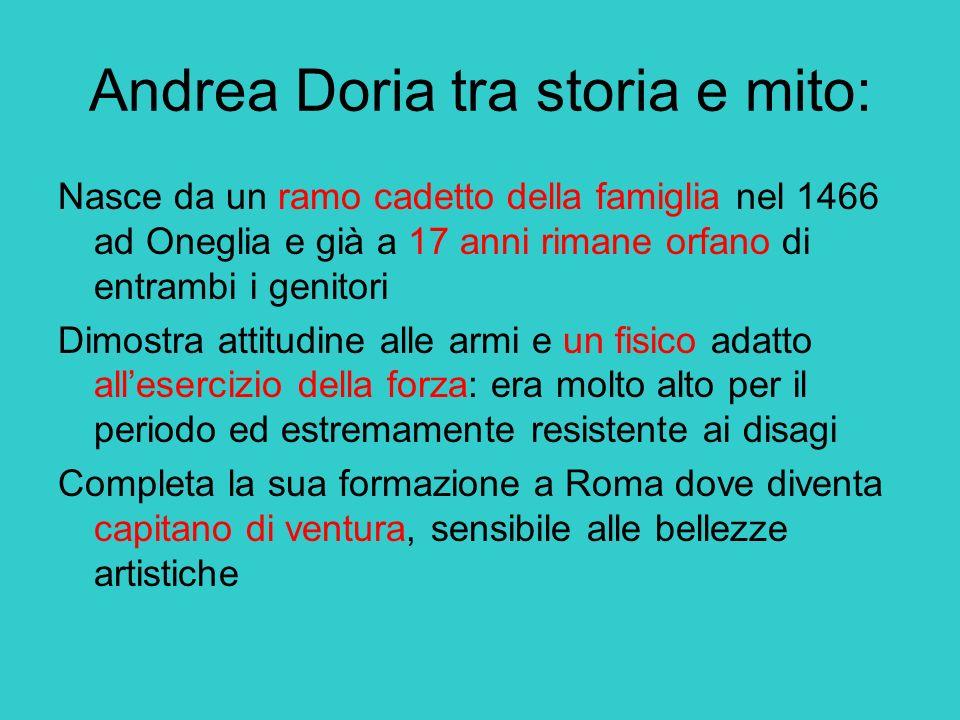 Andrea Doria tra storia e mito: