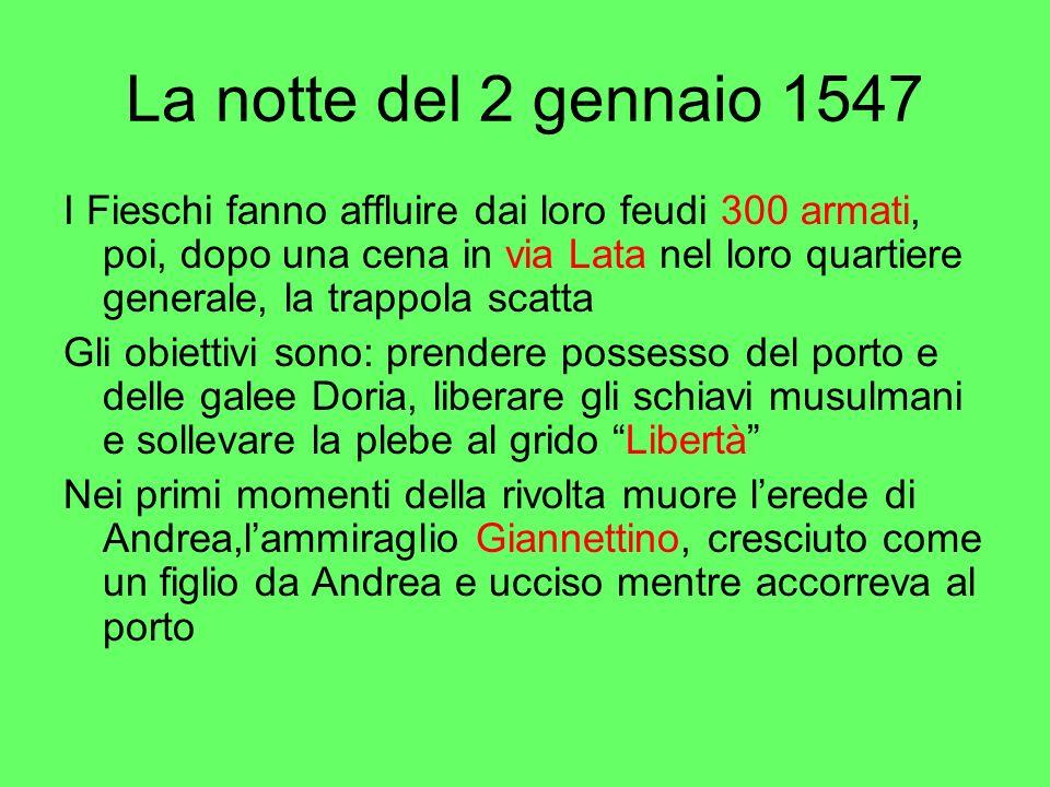 La notte del 2 gennaio 1547