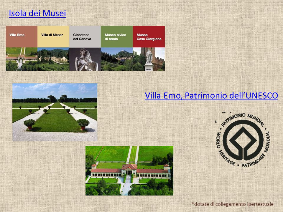 Villa Emo, Patrimonio dell'UNESCO
