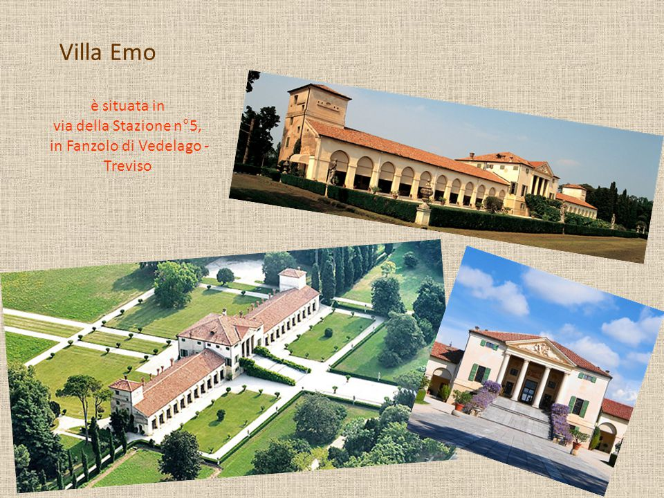 è situata in via della Stazione n°5, in Fanzolo di Vedelago - Treviso