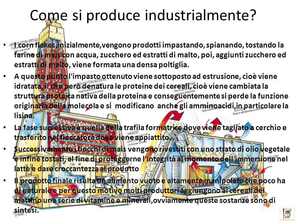 Come si produce industrialmente