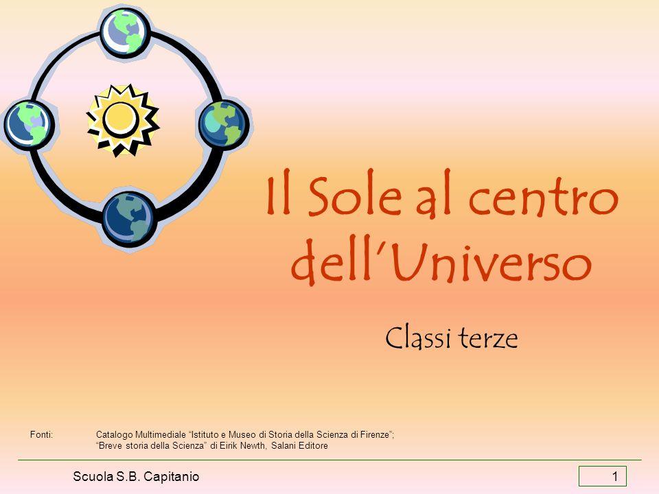 Il Sole al centro dell'Universo