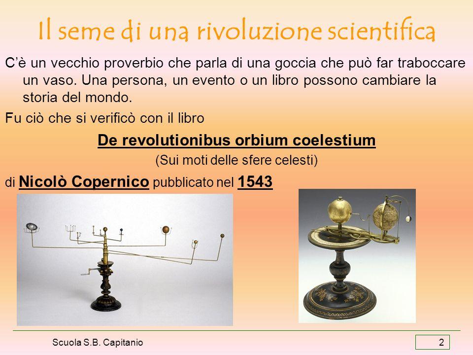 Il seme di una rivoluzione scientifica