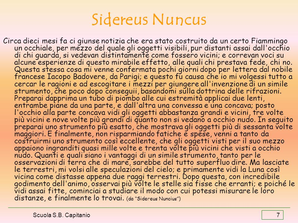 Sidereus Nuncus