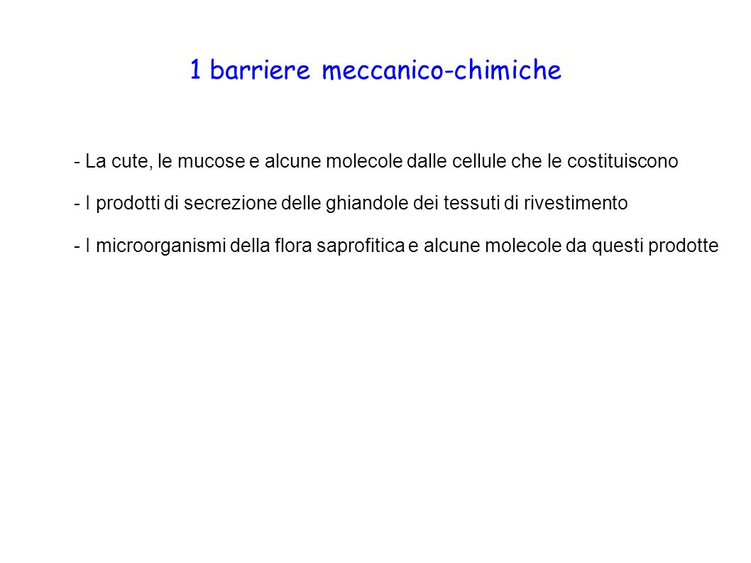 1 barriere meccanico-chimiche