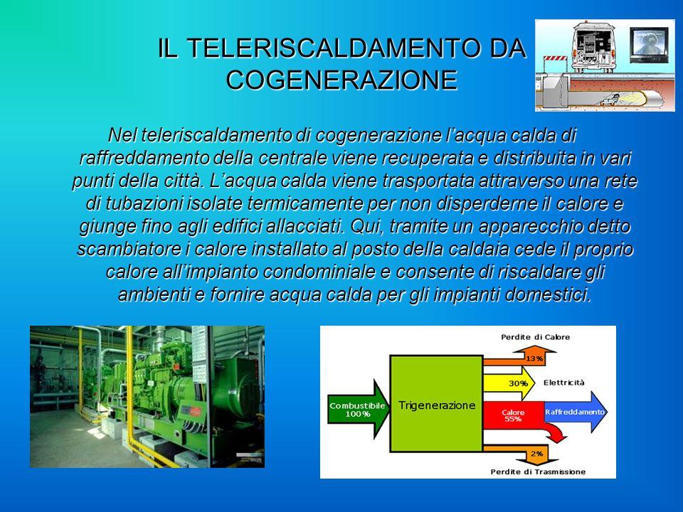 IL TELERISCALDAMENTO DA COGENERAZIONE