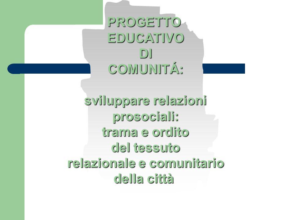 relazionale e comunitario