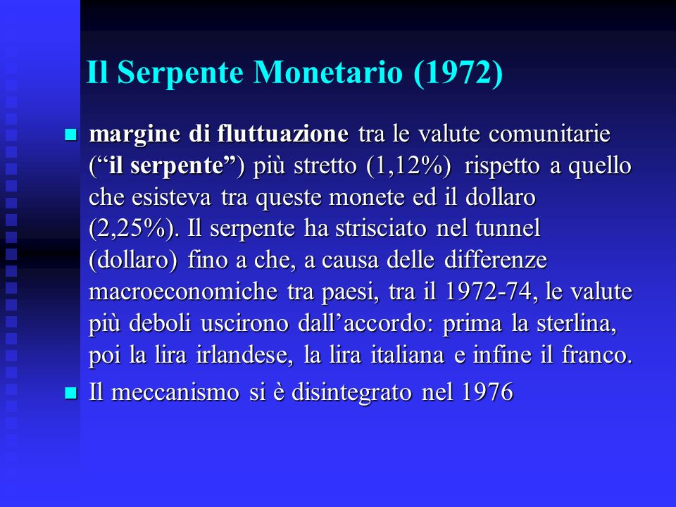 Il Serpente Monetario (1972)