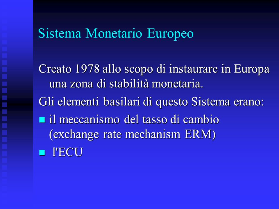 Sistema Monetario Europeo