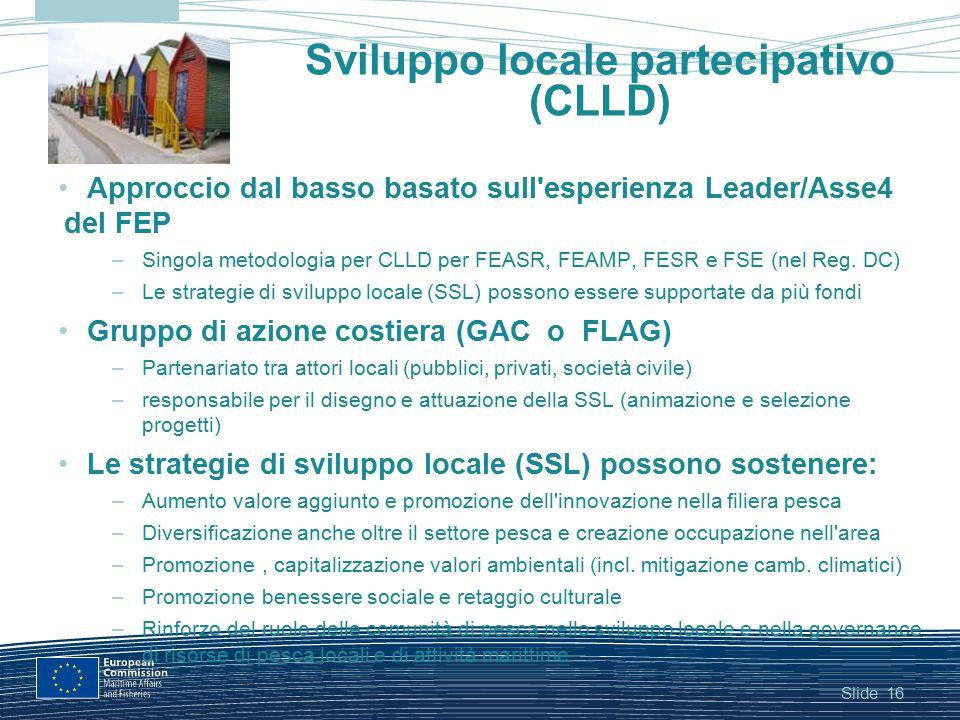 Sviluppo locale partecipativo (CLLD)