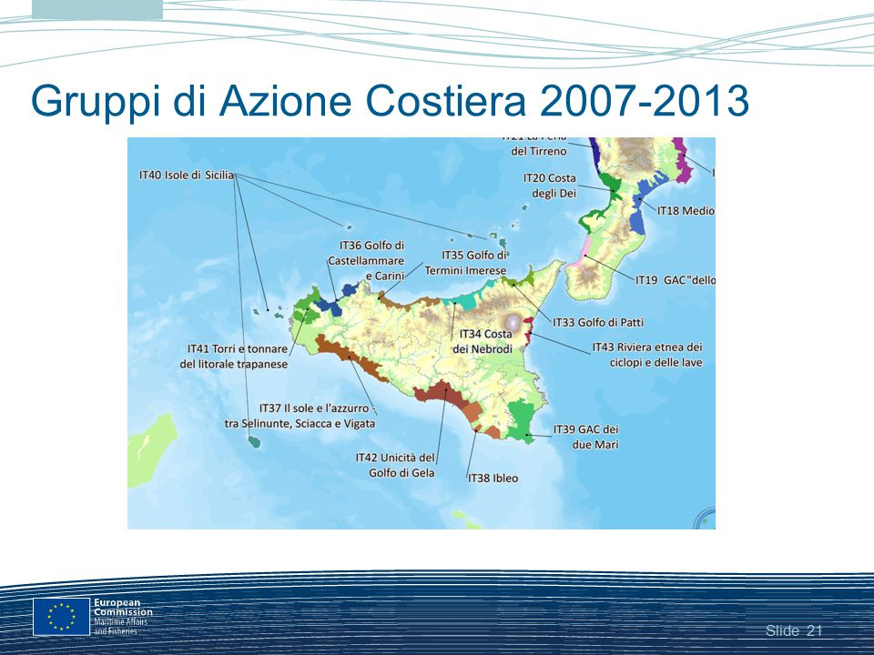 Gruppi di Azione Costiera 2007-2013