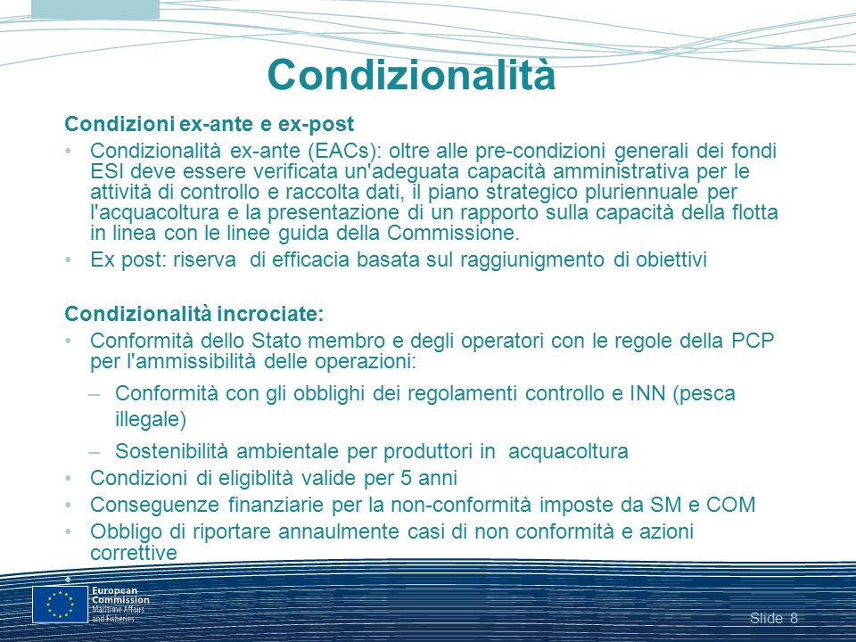 Condizionalità Condizioni ex-ante e ex-post