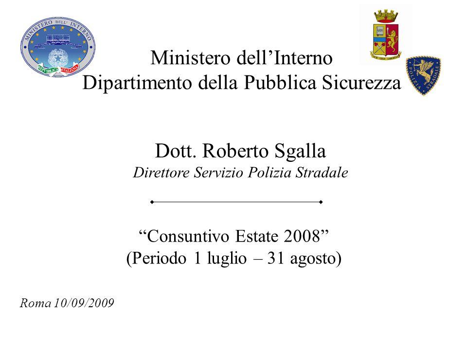 Ministero dell'Interno Dipartimento della Pubblica Sicurezza
