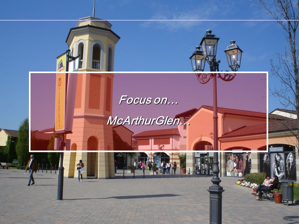 Focus on… McArthurGlen…