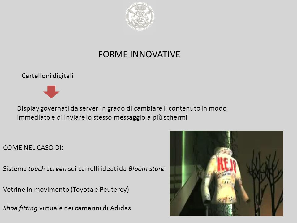FORME INNOVATIVE Cartelloni digitali