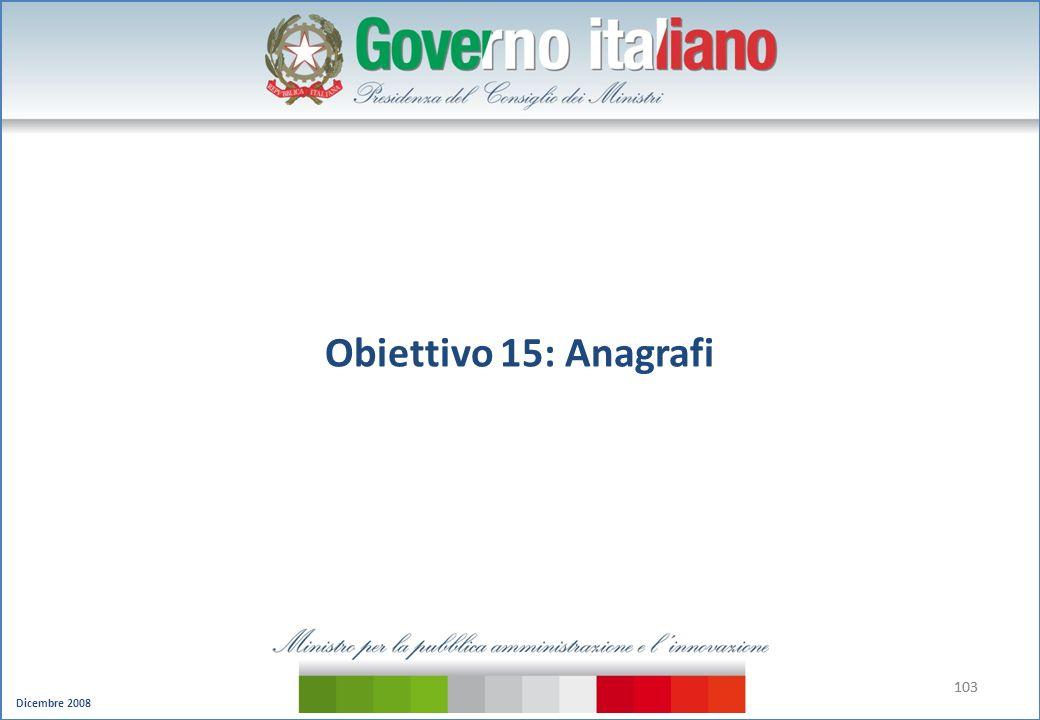 Obiettivo 15: Anagrafi 103