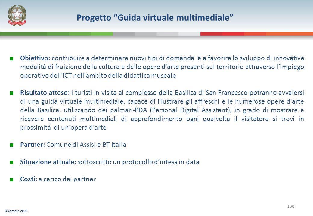 Progetto Guida virtuale multimediale