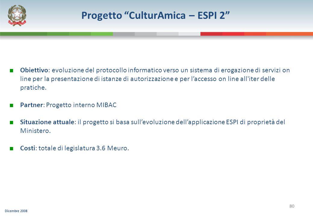 Progetto CulturAmica – ESPI 2