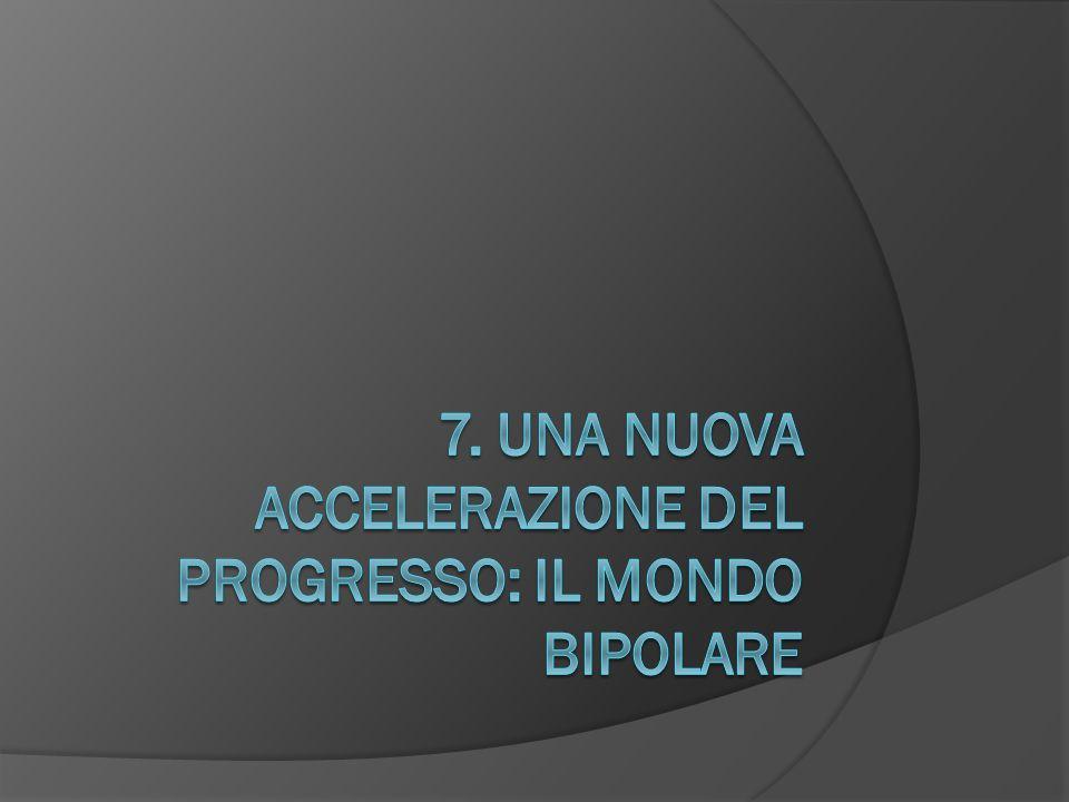 7. Una nuova accelerazione del progresso: Il mondo bipolare