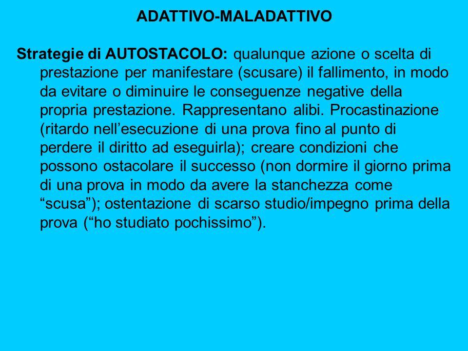 ADATTIVO-MALADATTIVO