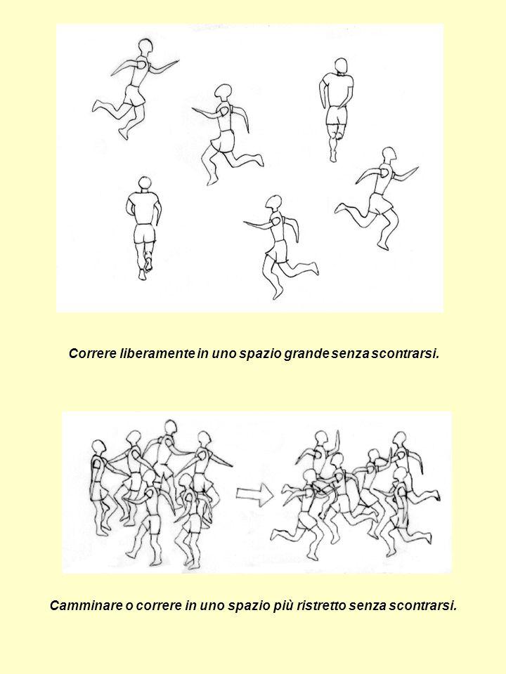 L insegnante batte le mani o fischia: gli allievi, con gli occhi bendati, avanzano verso il punto da cui proviene il suono.