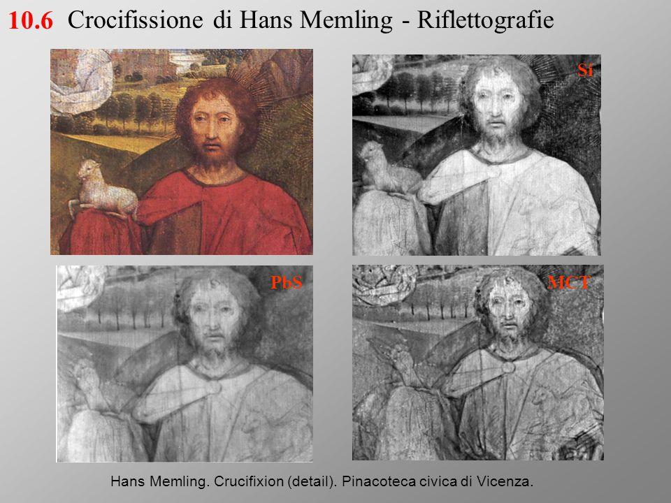 Crocifissione di Hans Memling - Riflettografie