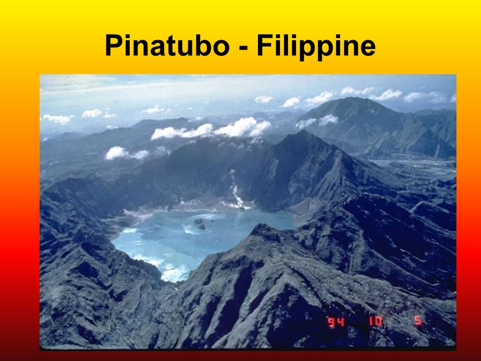 Pinatubo - Filippine