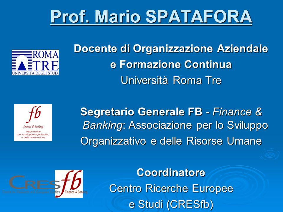 Prof. Mario SPATAFORA