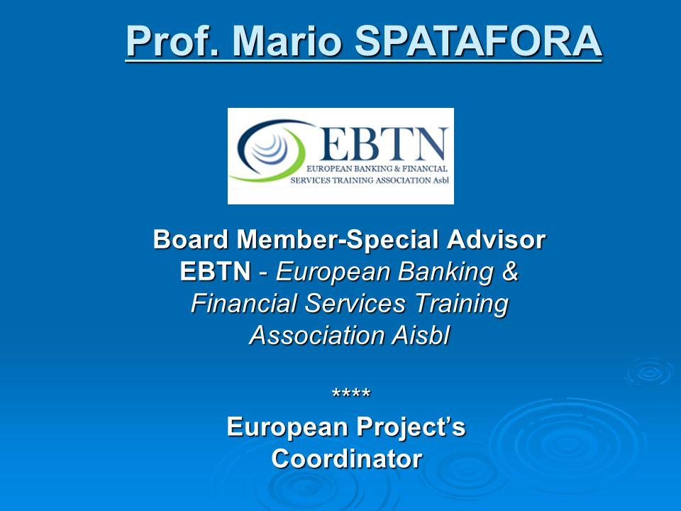 European Project's Coordinator