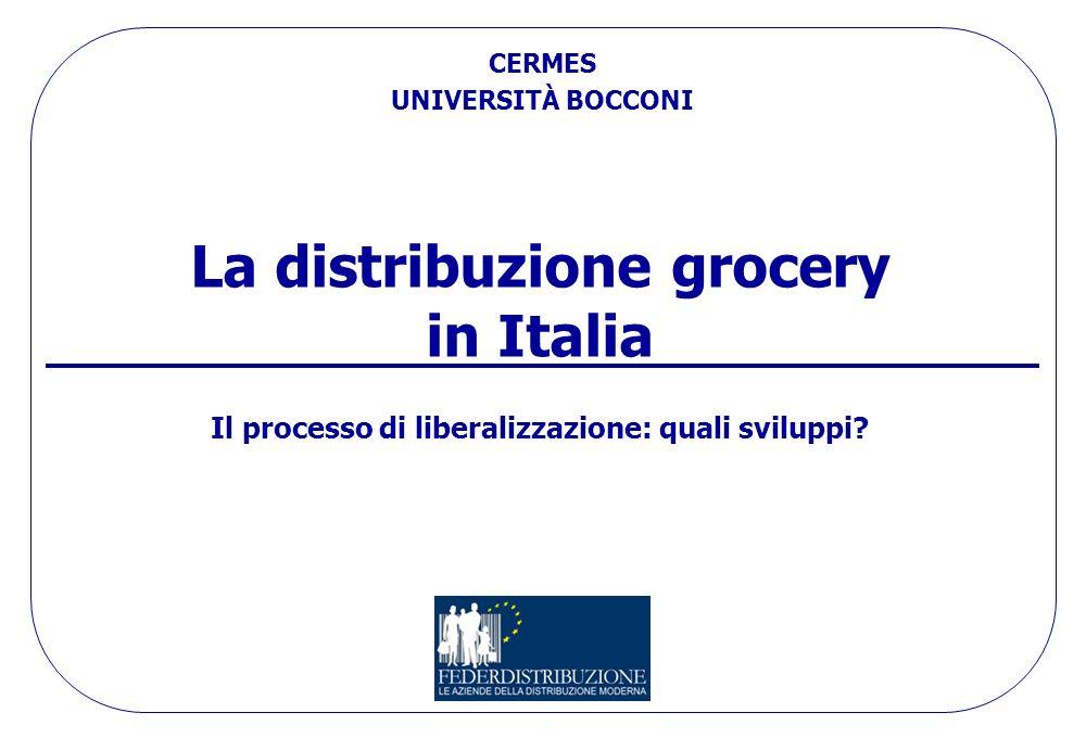 La distribuzione grocery in Italia