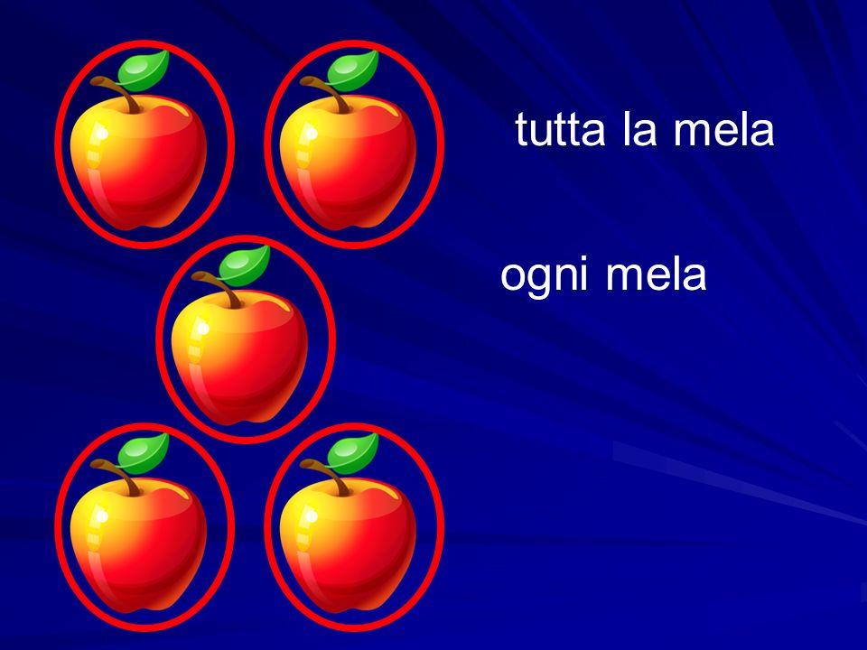 tutta la mela ogni mela