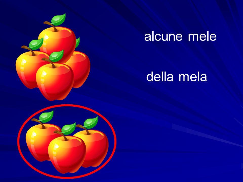 alcune mele della mela