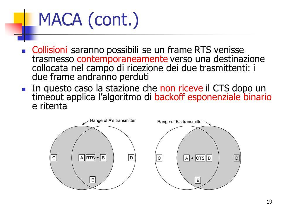 MACA (cont.)