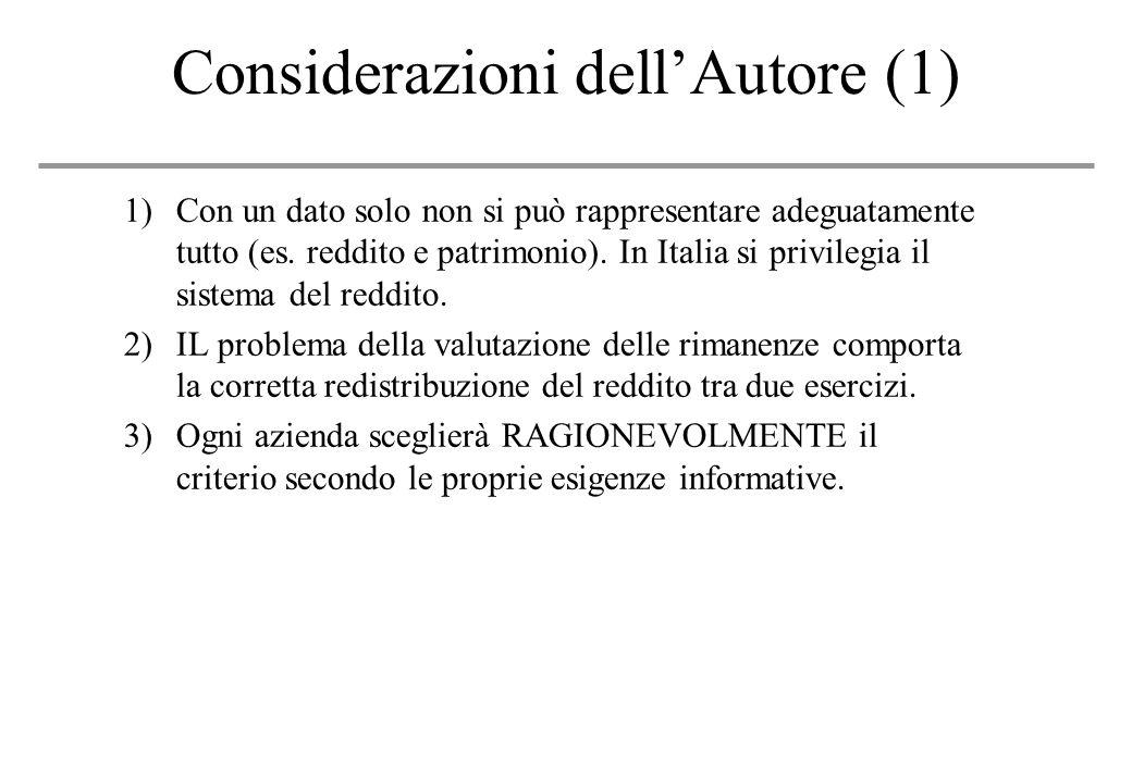 Considerazioni dell'Autore (1)