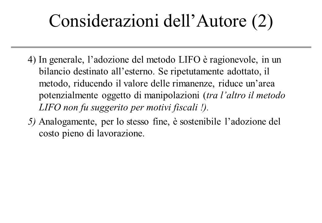 Considerazioni dell'Autore (2)